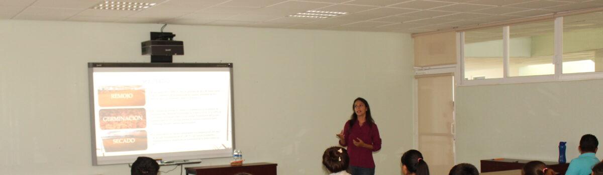 PARTICIPAN ALUMNOS DE PROCESOS BIOALIMENTARIOS EN CONFERENCIA SOBRE CERVEZA ARTESANAL
