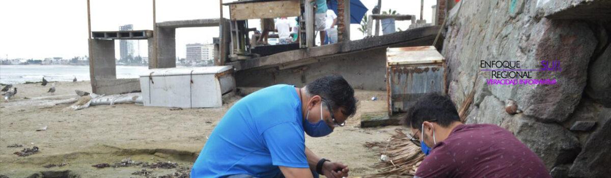 Atiende Gobierno municipal  denuncia ciudadana en Playa Norte