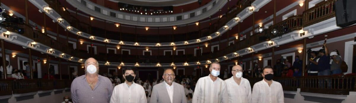 Inauguran la edición 18 de México Cumbre de Negocios en el TAP