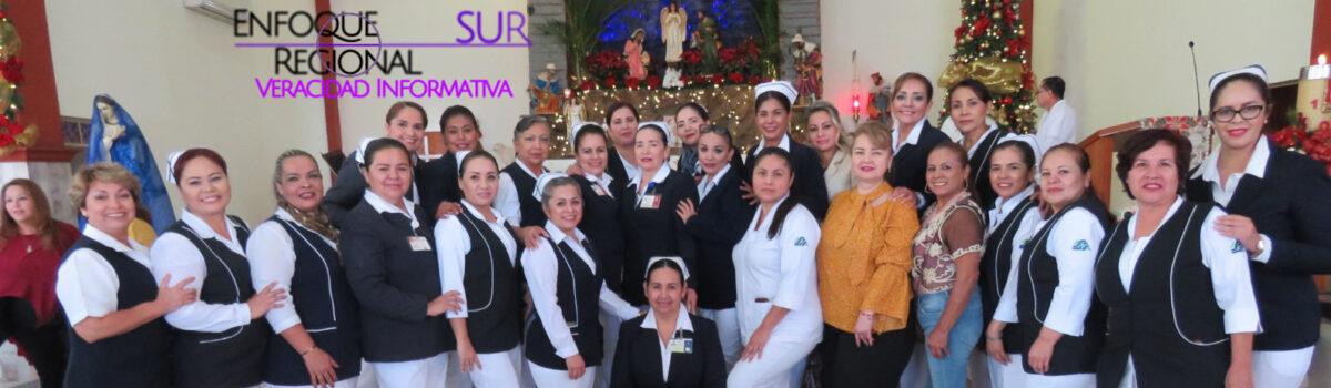 Celebran Enfermería con misa de Acción de Gracias en la Parroquia de Santa Rosa de Lima