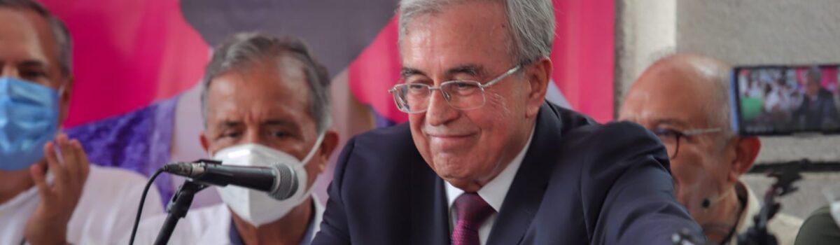 RUBÉN ROCHA MOYA RECIBE CONSTANCIA DE GOBERNADOR ELECTO DE SINALOA.