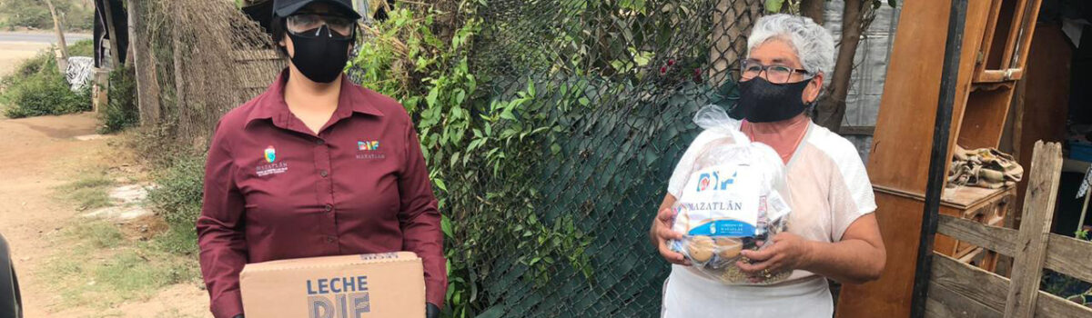 Personas con discapacidad y adultos mayores reciben atención personalizada por parte de Sistema DIF Mazatlán