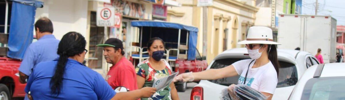 Llega la campaña '3C' contra el Covid-19 a la Sindicatura de Villa Unión