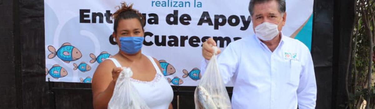 DIF MAZATLÁN ENTREGA DOS TONELADAS DE PESCADO FRESCO A MIL FAMILIAS VULNERABLES