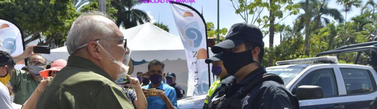 REFUERZA MUNICIPIO LA SEGURIDAD PÚBLICA CON CUATRO NUEVAS PATRULLAS