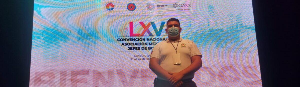 """BOMBEROS ESCUINAPA PRESENTE EN EL """"LXV CONVENCIÓN NACIONAL DE JEFES DE BOMBEROS"""""""