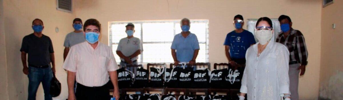 DIF Mazatlán entregó despensas a músicos que quedaron en situación vulnerable ante Covid 19